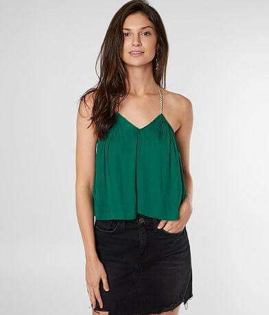 Free People Callie Halter Bodysuit