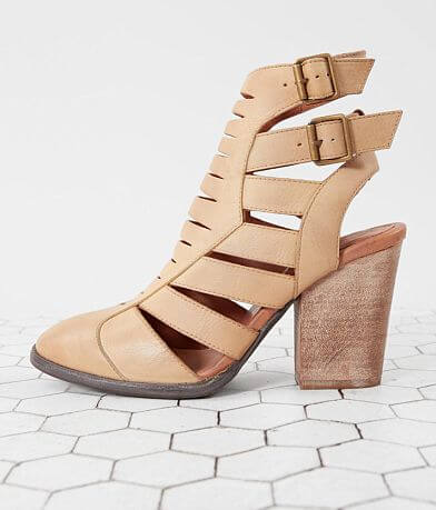 Free People Hayes Heeled Leather Ankle Boot