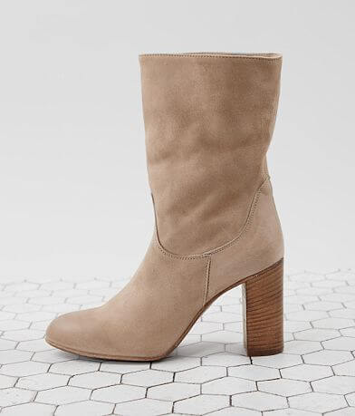 Free People Dakota Heeled Suede Midi Boot