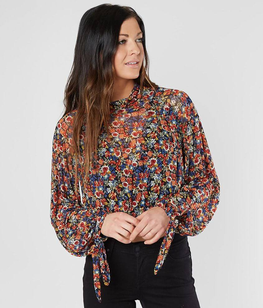 15035529aa67b Free People All Dolled Up Cropped Top - Women s Shirts Blouses in ...