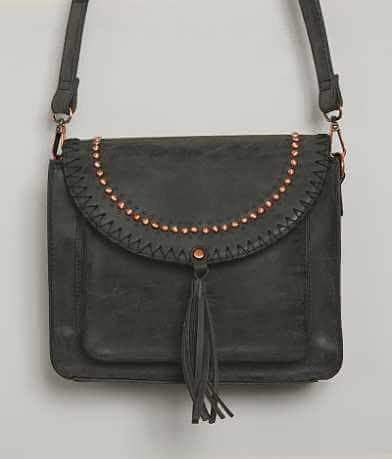 Faux Leather Crossbody Purse