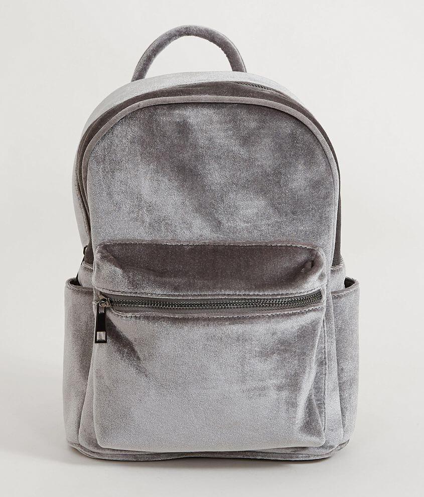 fa8b38dd42 Mini Velvet Backpack - Women s Accessories in Grey Blue