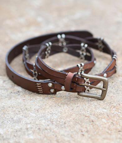 BKE Twisted Leather Belt