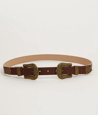 BKE Double Buckle Belt