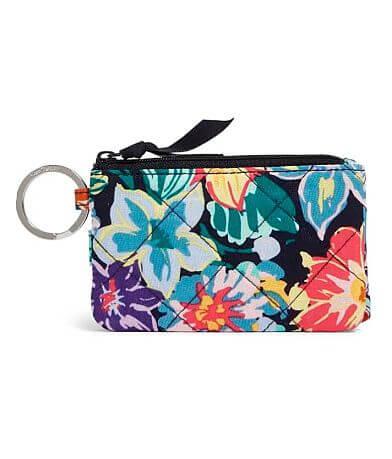 Vera Bradley Happy Blooms RFID Deluxe ID Wallet