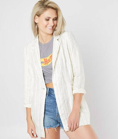 Mo:Vint Striped Blazer Jacket