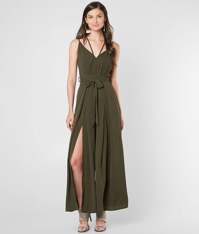 743cd25afbe Very J Textured Wide Leg Jumpsuit - Women s Rompers Jumpsuits in ...