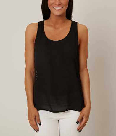 Very J Cut-Out Tank Top
