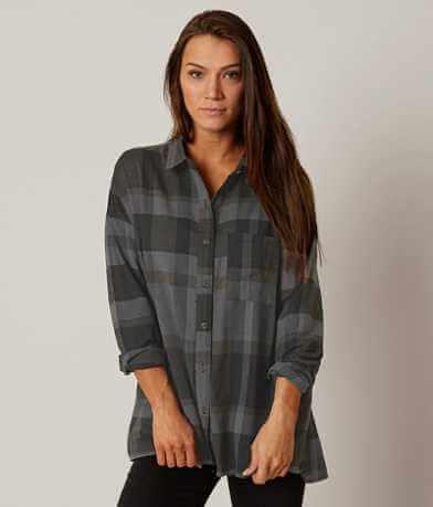 Very J Plaid Shirt