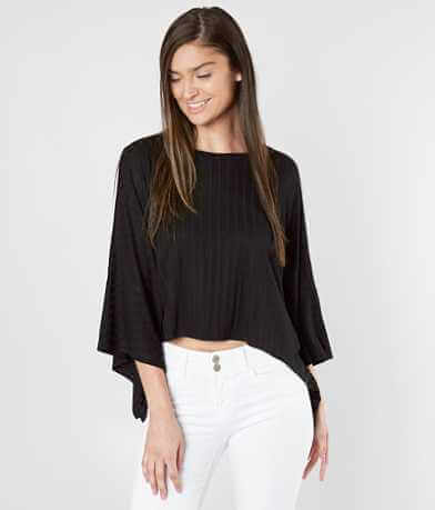 Very J Cropped Dolman Top
