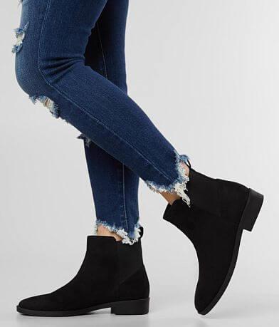 London Rag Flat Chelsea Ankle Boot
