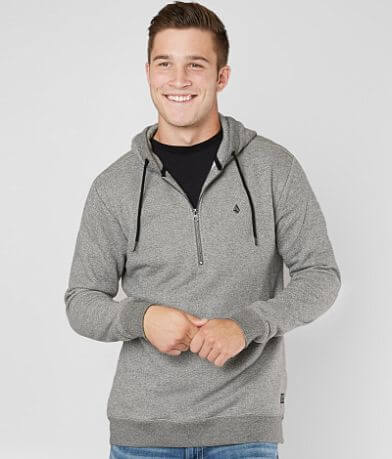 Volcom Index Half Zip Hooded Sweatshirt