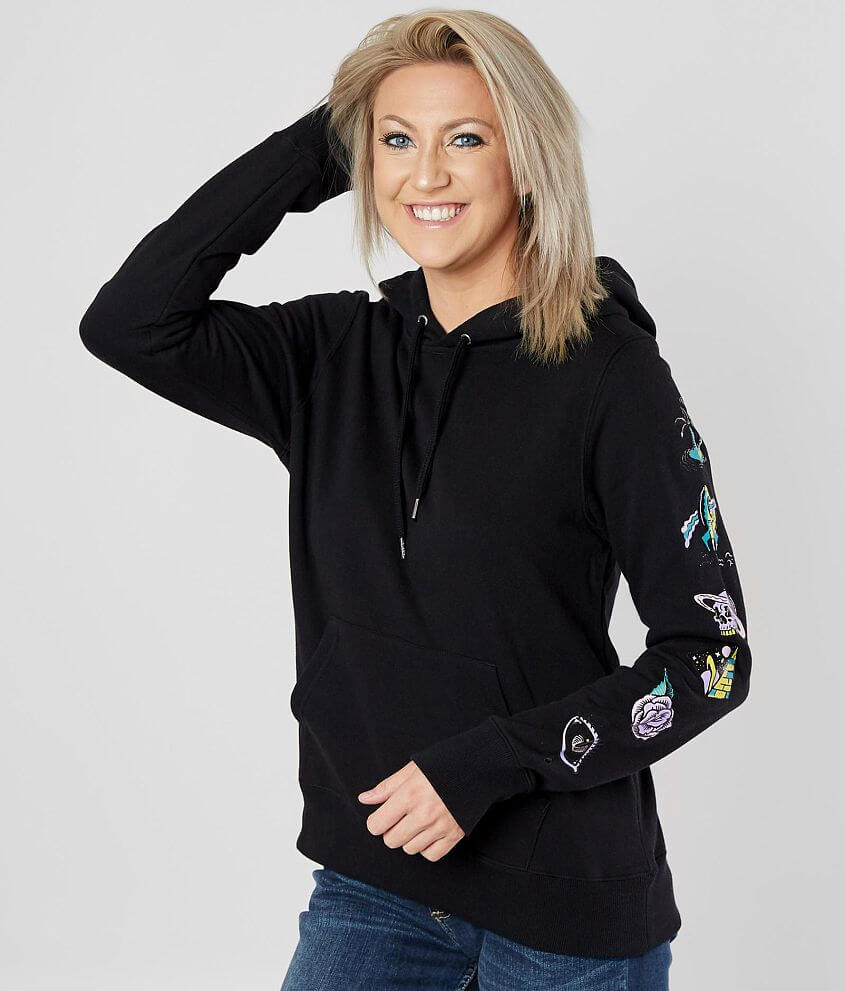 48b78385854 Volcom Vol Stone Hooded Sweatshirt - Women's Sweatshirts in Black ...