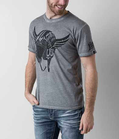 Von Dutch Helmet Wings T-Shirt