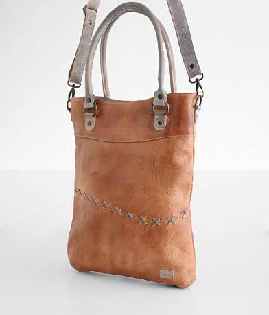 Bed Stu Celta Whipstitch Leather Satchel