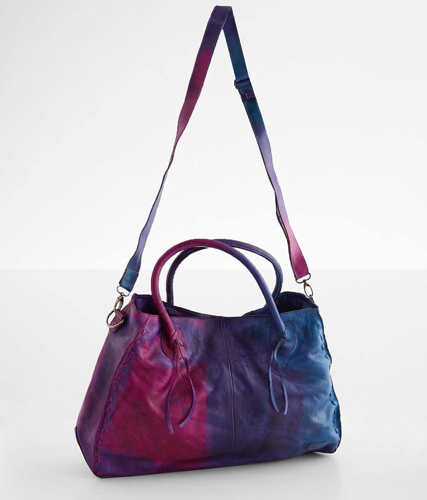 Bed Stu Rockaway Leather Tote Purse front view