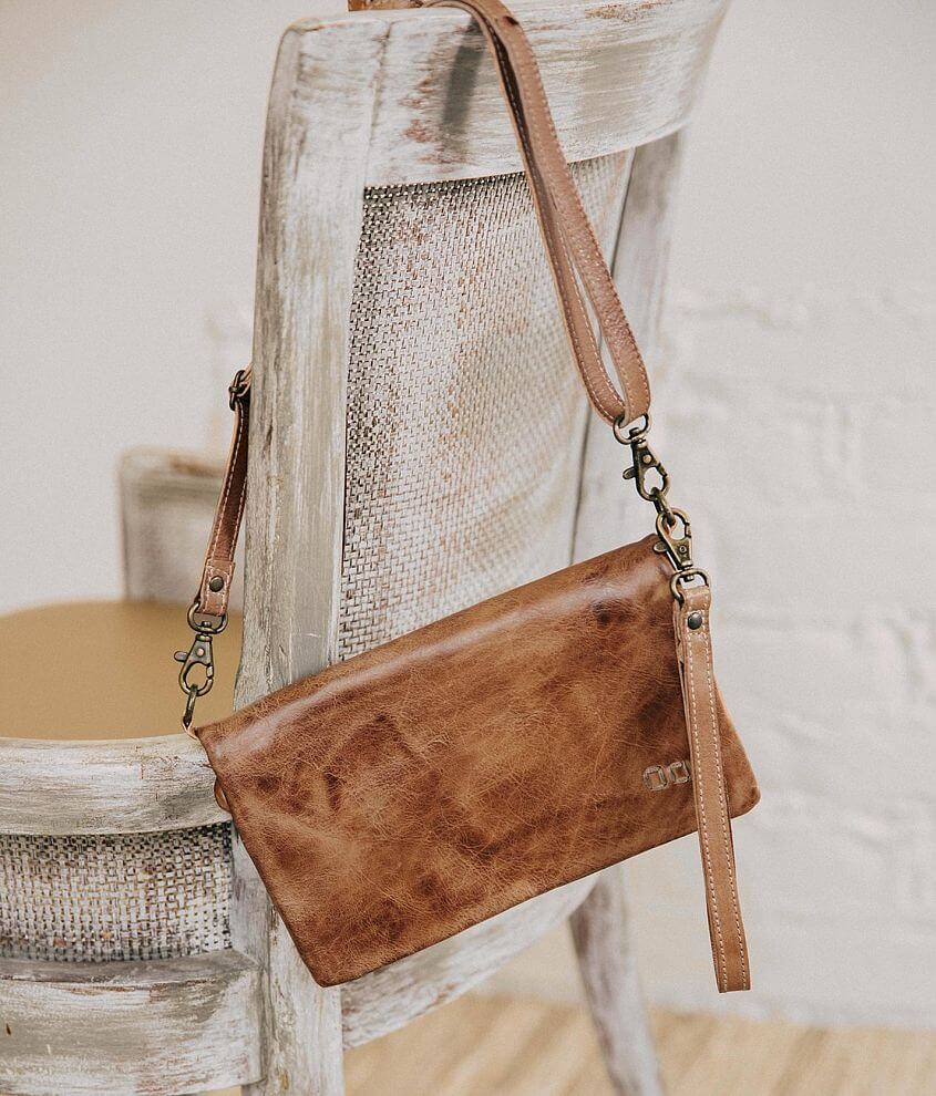 Bed Stu Candence Leather Crossbody Purse front view