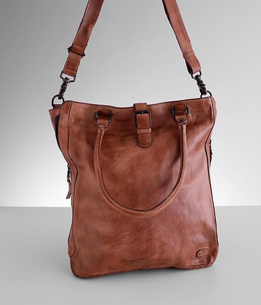 Bed Stu Mildred Crossbody Leather Purse front view