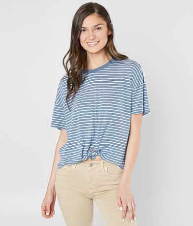 Modish Rebel Striped T-Shirt