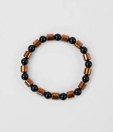 BKE Copper Beaded Bracelet