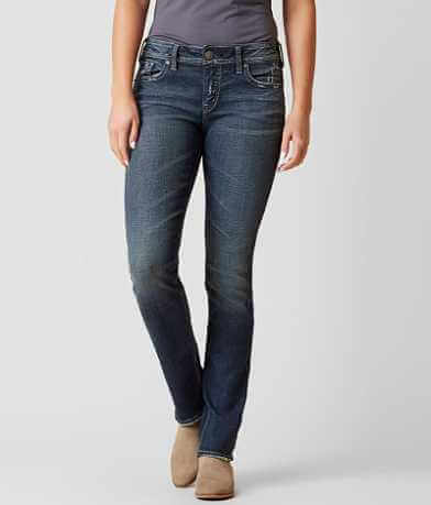 Silver Elyse Straight Stretch Jean
