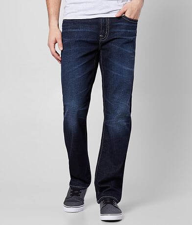 Silver Grayson Straight Stretch Jean