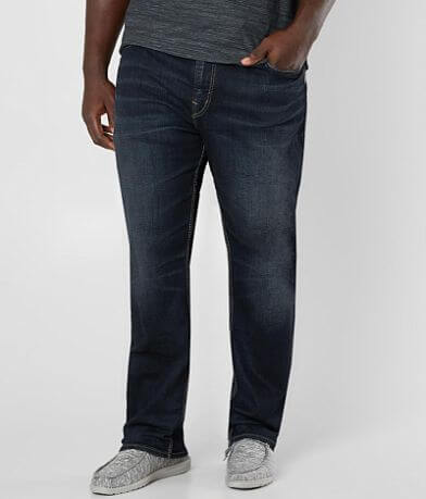 Big & Tall - Silver Grayson Stretch Jean