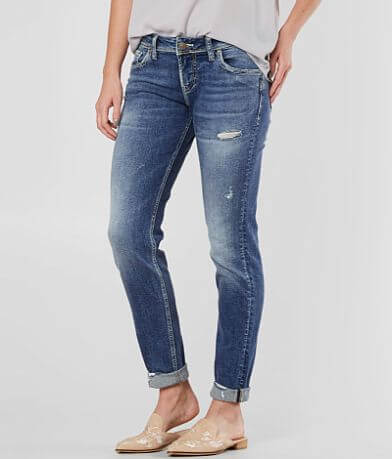 Silver Sam Boyfriend Stretch Cuffed Jean