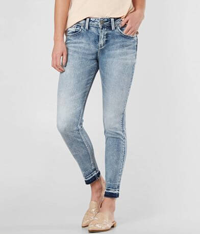 Silver Avery Ankle Skinny Stretch Jean