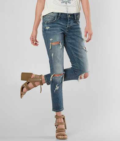 Silver Kenni Ankle Skinny Stretch Jean