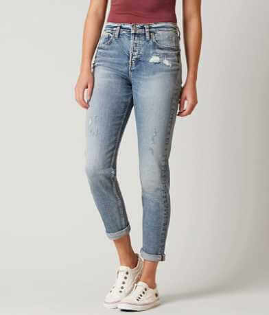 Silver The Mom Stretch Jean
