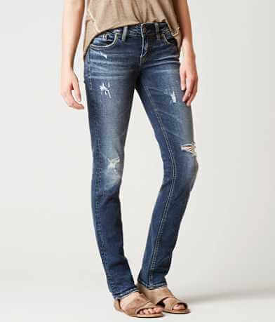 Silver Berkley Straight Stretch Jean
