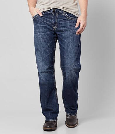 Silver Gordie Straight Stretch Jean