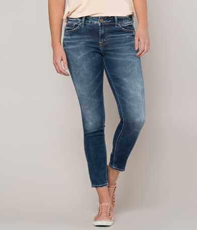 Silver Aiko Ankle Skinny Stretch Jean