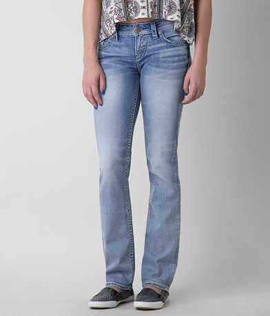 Silver Aiko Straight Stretch Jean