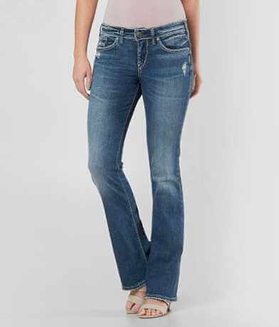 Silver Suki Boot Stretch Jean