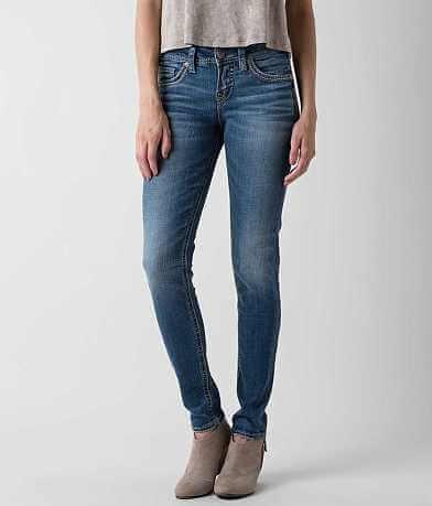 Silver Suki Mid-Rise Skinny Stretch Jean
