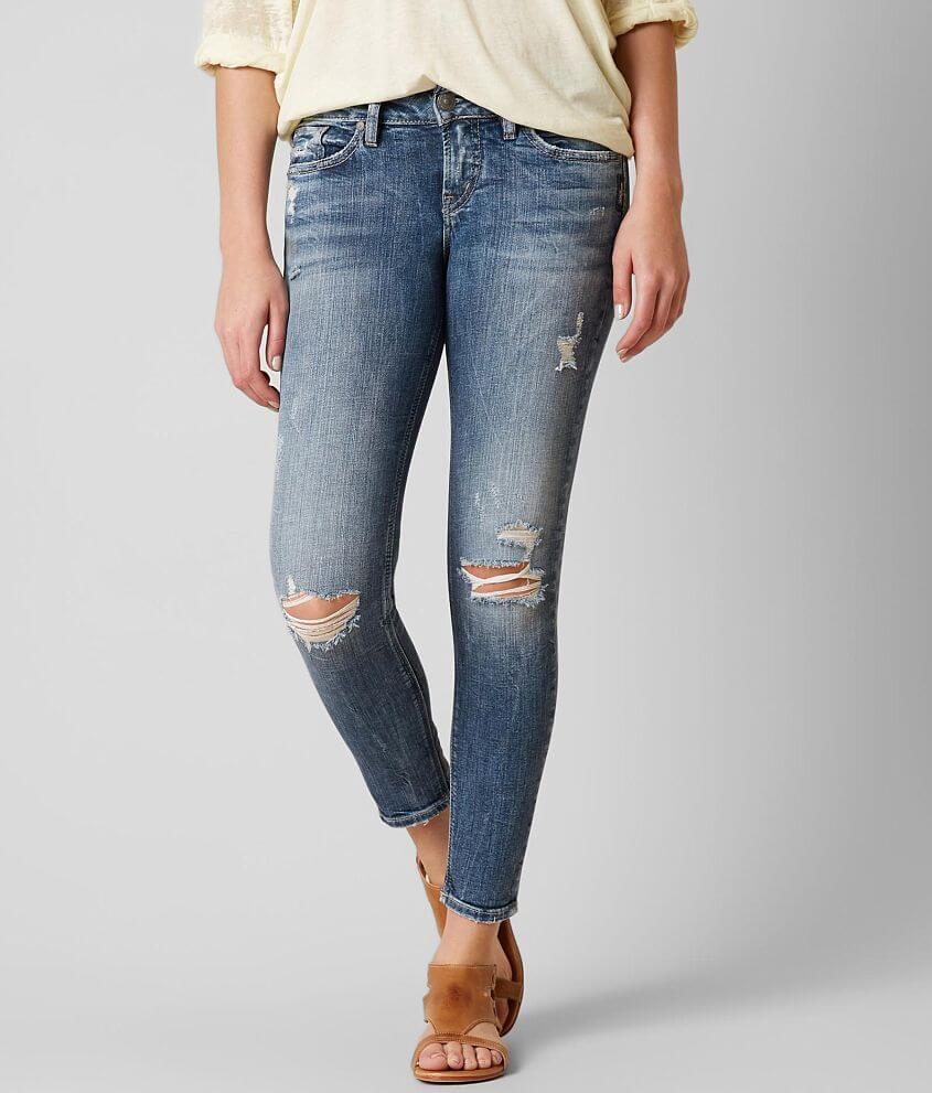 6128dd9c Silver Suki Ankle Skinny Stretch Jean - Women's Jeans in SJL 239 | Buckle