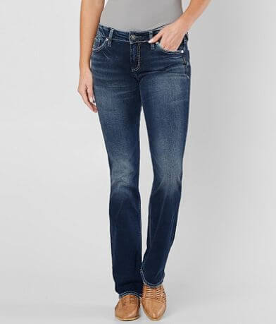 Silver Suki Slim Boot Stretch Jean