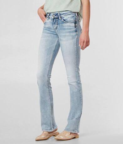 Silver Suki Boot Stretch Jean