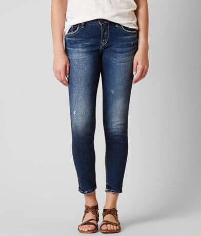 Silver Avery Ankle Skinny Jean