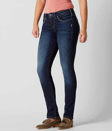 Silver Avery Straight Stretch Jean