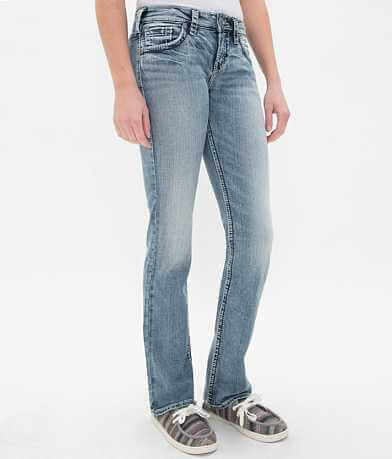 Silver Suki High Rise Boot Stretch Jean