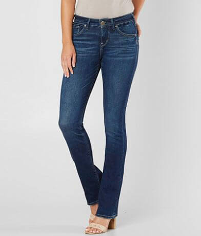Silver Avery Slim Boot Stretch Jean