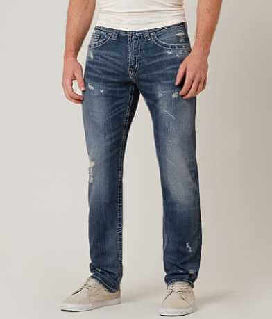Silver Eddie Straight Stretch Jean