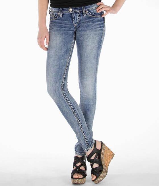 Silver Camden Rose Skinny Stretch Jean - Women's Jeans in SLW116 ...