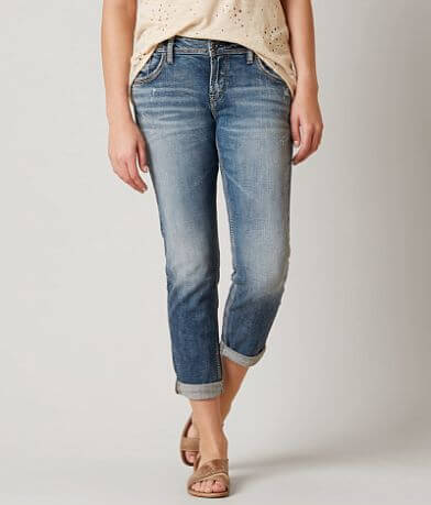 Silver Sam Boyfriend Stretch Cropped Jean