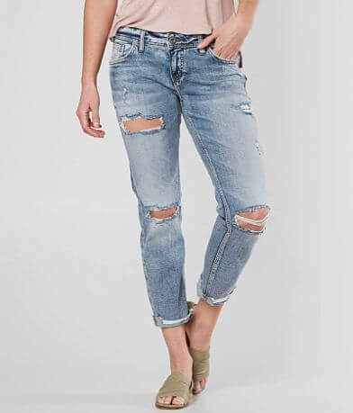 Silver Sam Boyfriend Stretch Jean