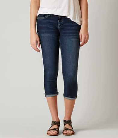 Silver Suki Stretch Cropped Jean