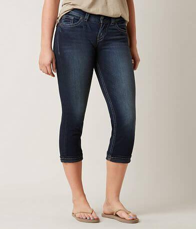 Silver Suki Cropped Jean
